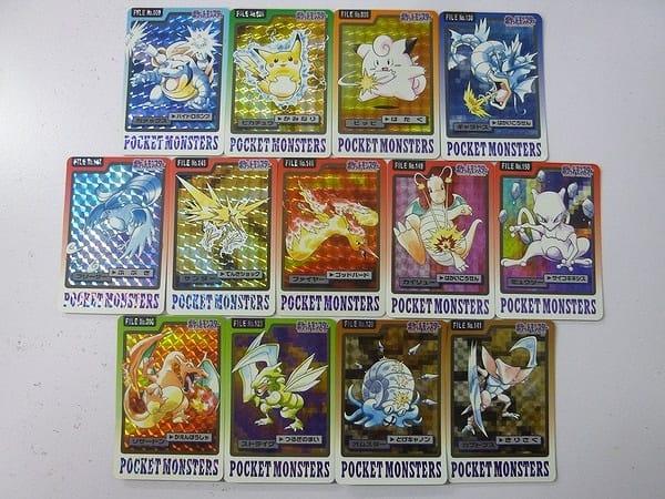ポケモン カードダス キラ 12枚 1997 ピカチュウ ピッピ