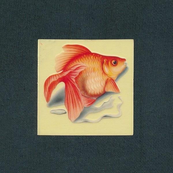 どっきり マイナーシール 120 金魚 / ビックリマン