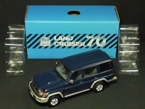 1/30 トヨタ ランドクルーザー70 ブルー 非売品