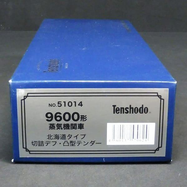 天賞堂 No.51014 9600形 蒸気機関車 北海道タイプ / HOゲージ