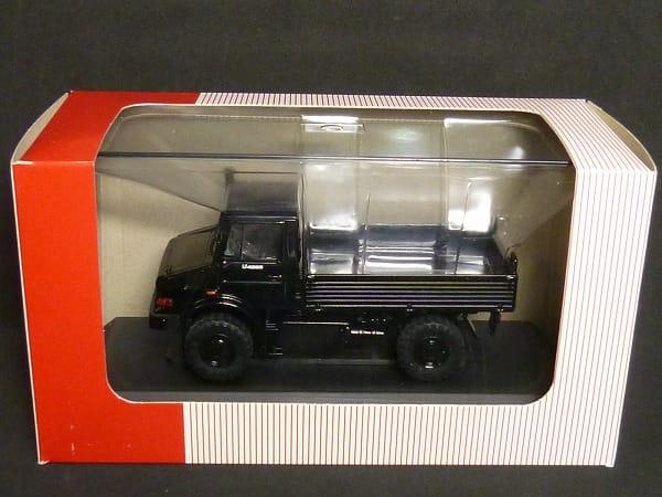 NZG 1/43 ウニモグ U4000 メルセデス・ベンツ ブラック