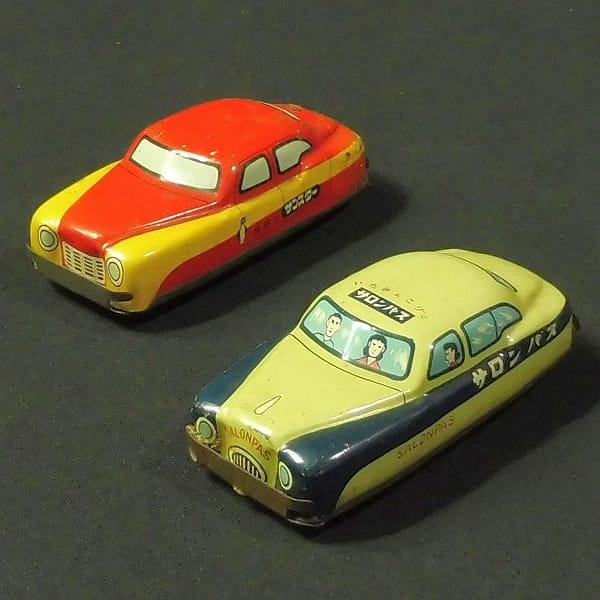 昭和レトロ ブリキ 車 サロンパス サンスター / 販促品