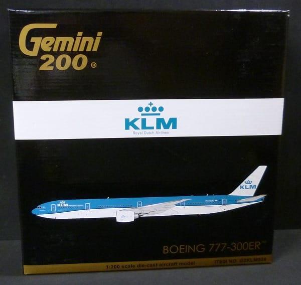 ジェミニ 1/200 ボーイング777-300ER KLM オランダ航空