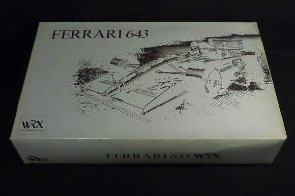 ロッソ ROSSO 1/8 フェラーリ643 WRX ダイキャスト 絶版