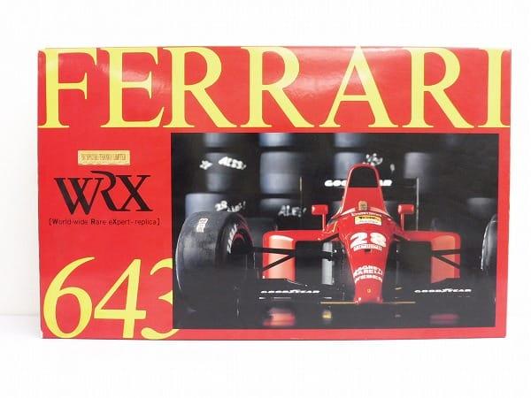 ロッソ 1/8 フェラーリ643 WRX ダイキャスト/ROSSO