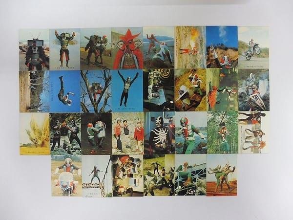 カルビー 当時物 旧 仮面ライダーV3 カード 69 30枚