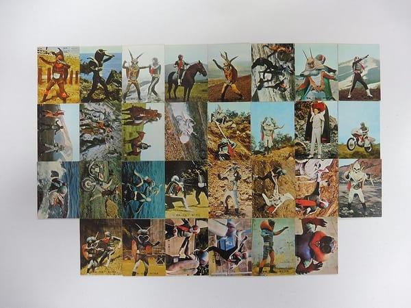 カルビー 旧 仮面ライダー カード 188 30枚 コンプ