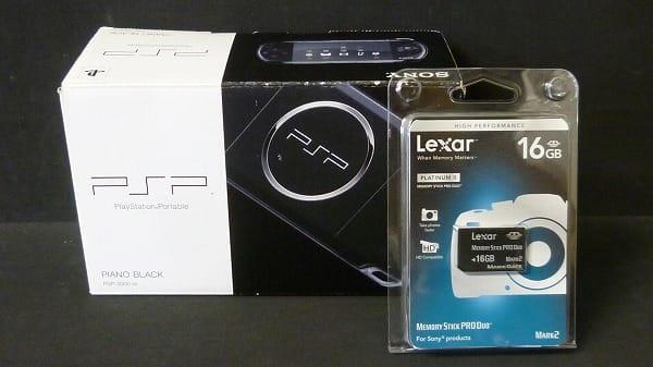 SCE PSP-3000PB ピアノブラック 16GBメモリ付 / ソニー