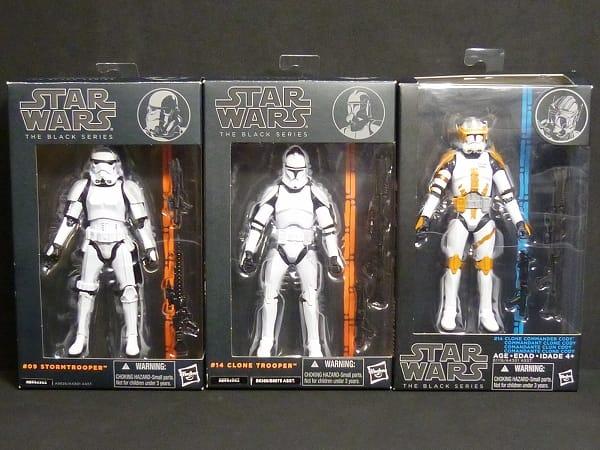 STARWARS 6インチ figure ブラック ストームトルーパー