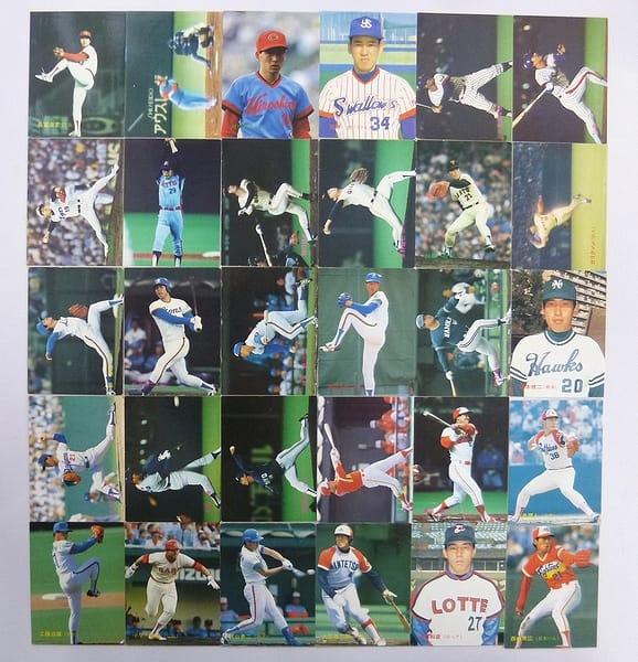 カルビー 当時 プロ野球カード 1988年 No.116~149 30枚