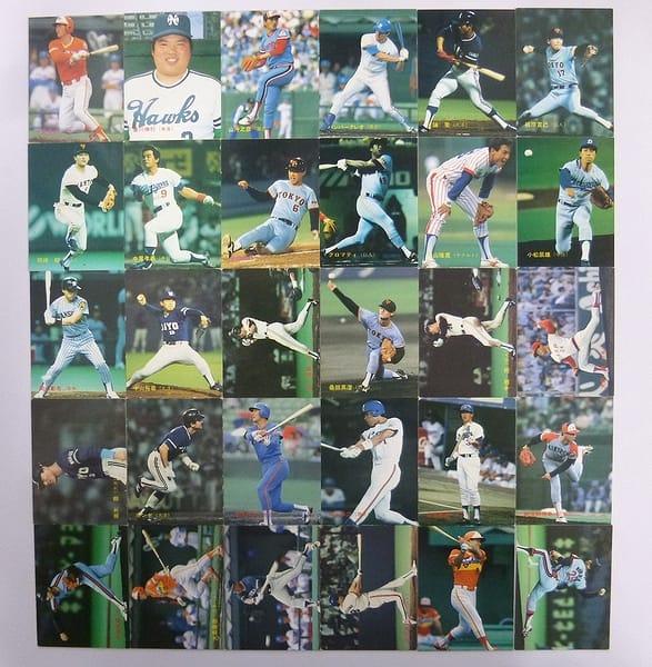カルビー 当時 プロ野球カード 1988年 No.150~195 30枚