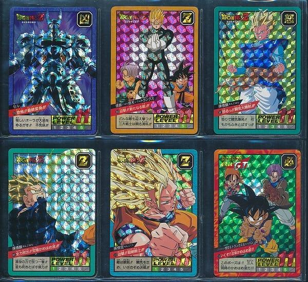 ドラゴンボール カードダス スーパーバトル ダブル 6枚