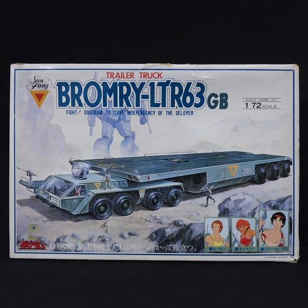 太陽の牙ダグラム トレーラー トラック ブロムリー