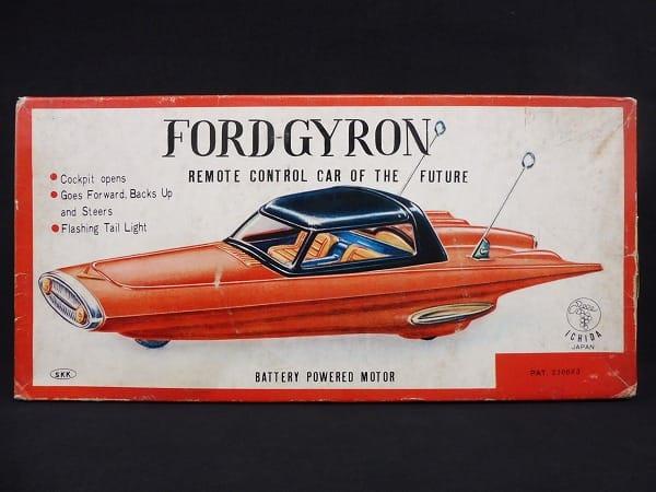 イチダ 当時物 フォード ジャイロン 電動 ブリキ