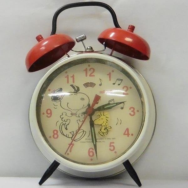 ビンテージ Salton スヌーピー 手巻 目覚まし 時計