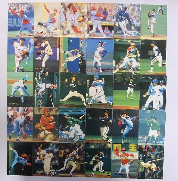 カルビー 当時物 プロ野球カード 83年 No.338~383 30枚