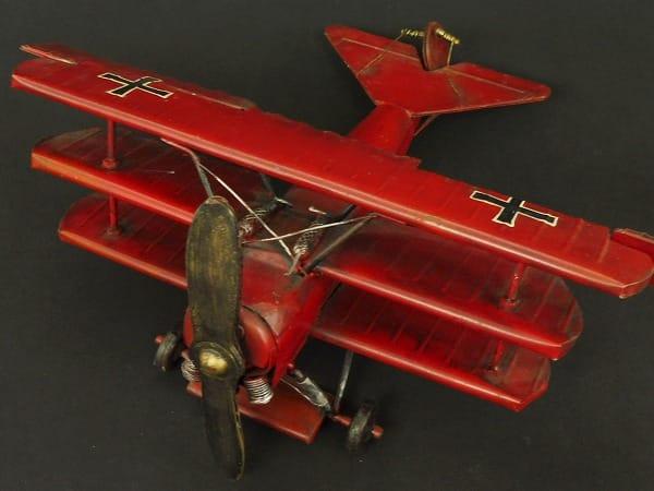 ブリキ フォッカーDr.1 三葉機 ドイツ