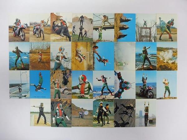セミコンプ カルビー 旧 仮面ライダーV3 カード 30枚