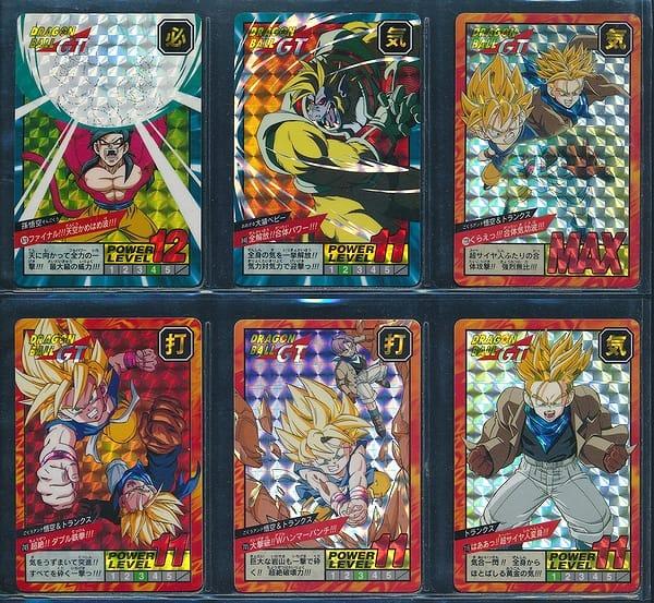ドラゴンボール カードダス GT スーパーバトル キラ 6枚