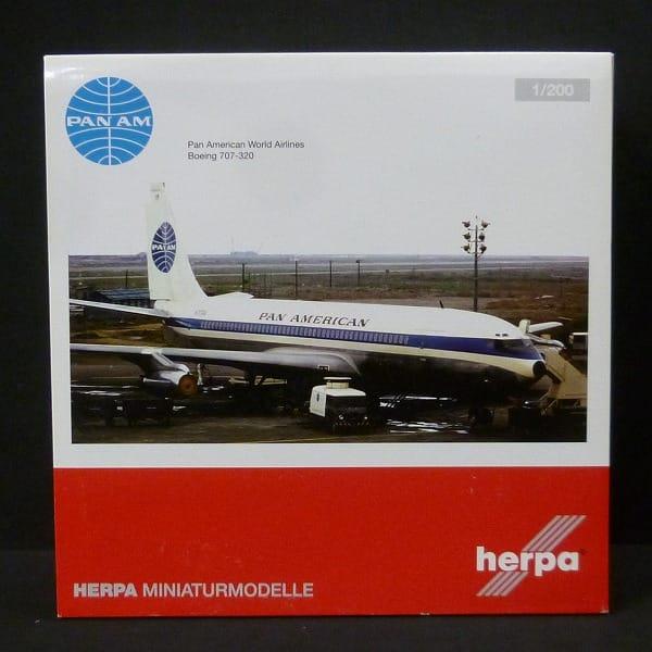 ヘルパ 1/200 ボーイング B707-320 パンアメリカン航空