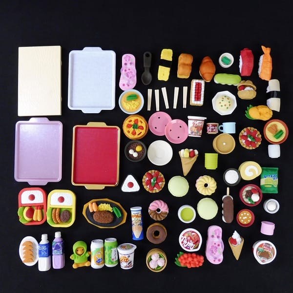 おもしろ消しゴム 食べ物系 ケーキ お寿司 他