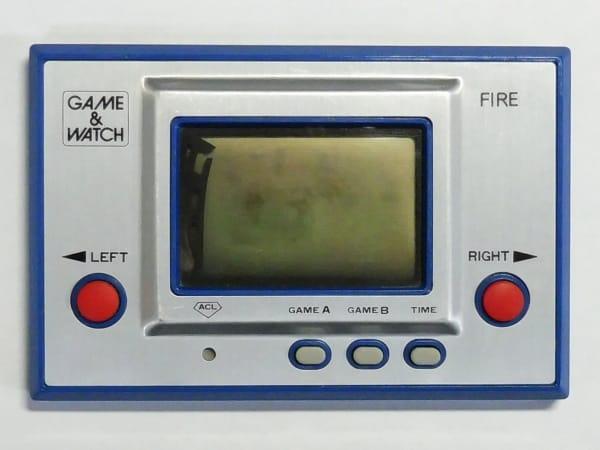 任天堂 ゲームウォッチ RC-04 ファイア FIRE