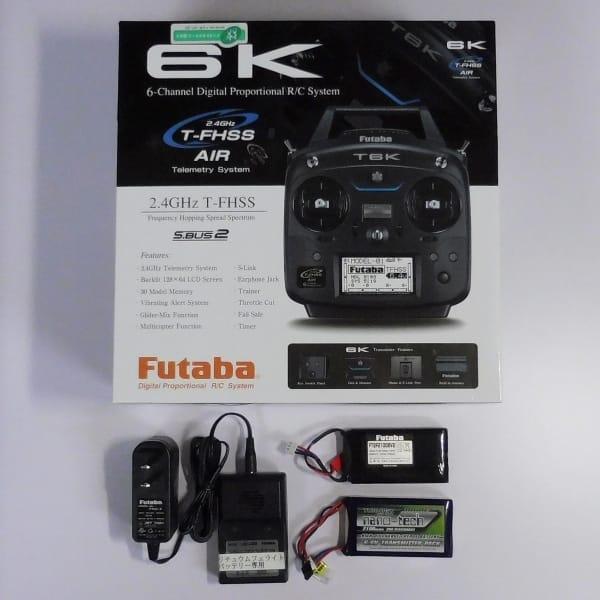 Futaba フタバ 6K 空用プロポ / T6K R3006SB 純正LiFe付