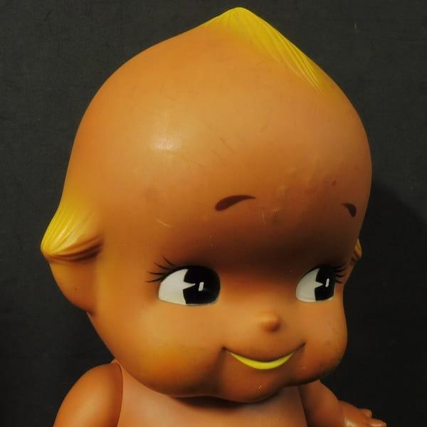 昭和レトロ キューピー 人形 褐色 ソフビ フィギュア