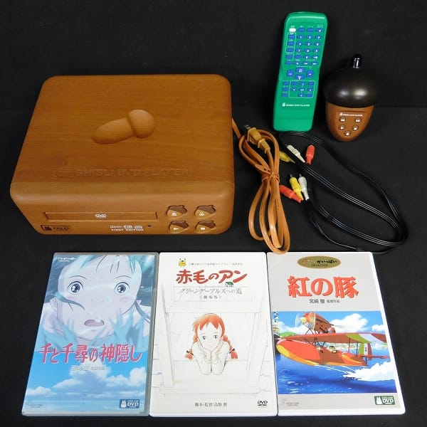 ジブリ DVD プレーヤー DVD付 /トトロ 千と千尋の神隠し