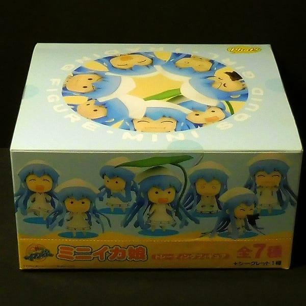 ミニイカ娘 フィギュア BOX 全7種 シークレット