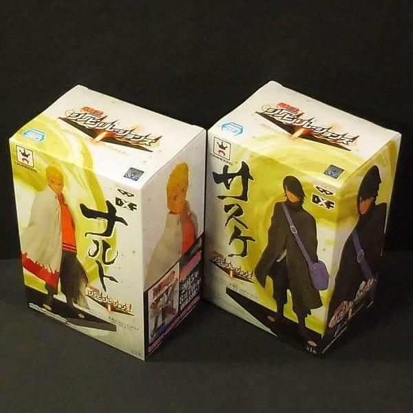 NARUTO 疾風伝 DXF フィギュア ナルト & サスケ_3