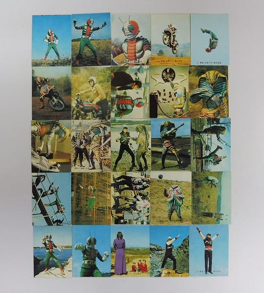 カルビー 当時物 旧 仮面ライダーV3 カード 103 25枚