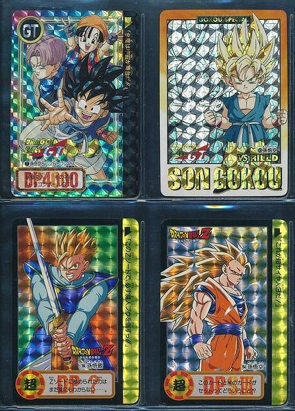 ドラゴンボール カードダス GT 両面キラ 1 93 155 154