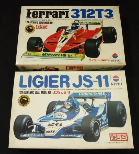 ニットー 1/28 フェラーリ Ferrari 312T3 リジェ JS-11