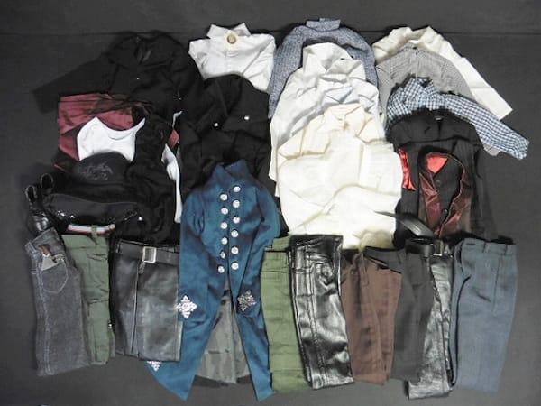 ドール 服 男の子 60cm級 シャツ セーター 靴 帽子
