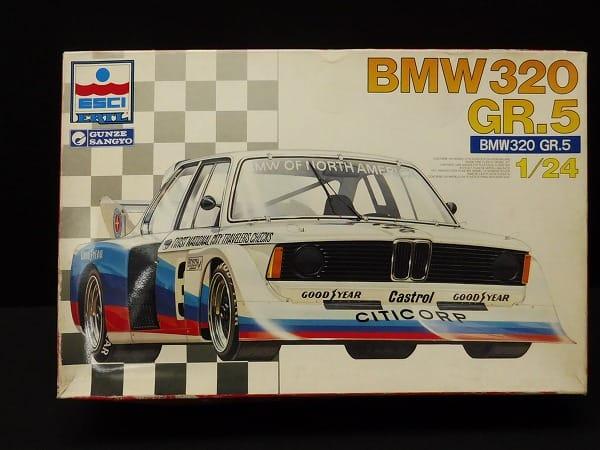 エッシー 1/24 BMW320 シルエット FNCB / グンゼ