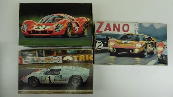 フジミ 1/24 フェラーリ 330 P4 フォード GT40