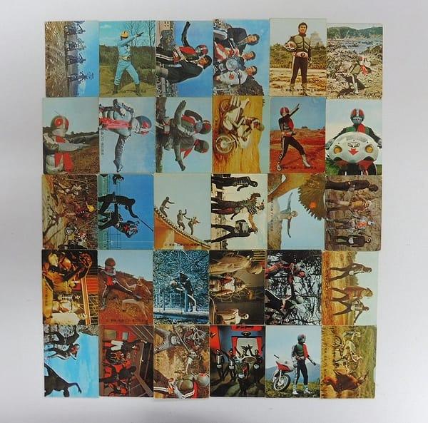 カルビー 旧 仮面ライダー カード 128 - 158 セミコンプ
