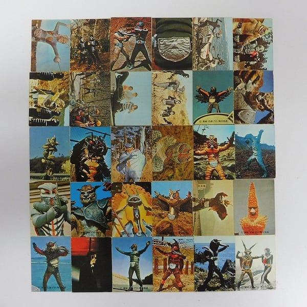 カルビー 旧 仮面ライダー カード 159 - 190 セミコンプ