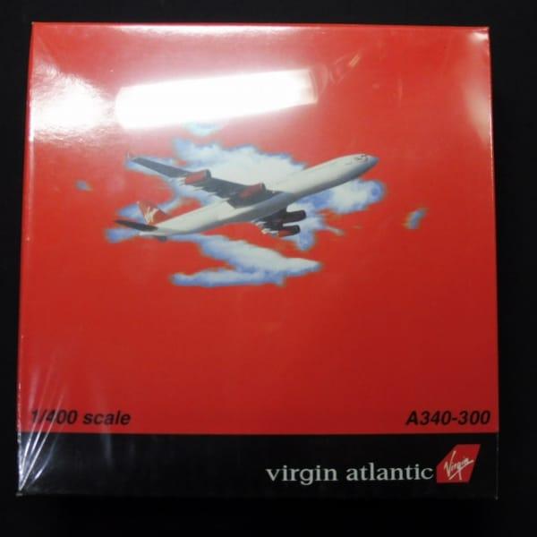 ドラゴン 1/400 Virgin atlantic航空 エアバス A340-300