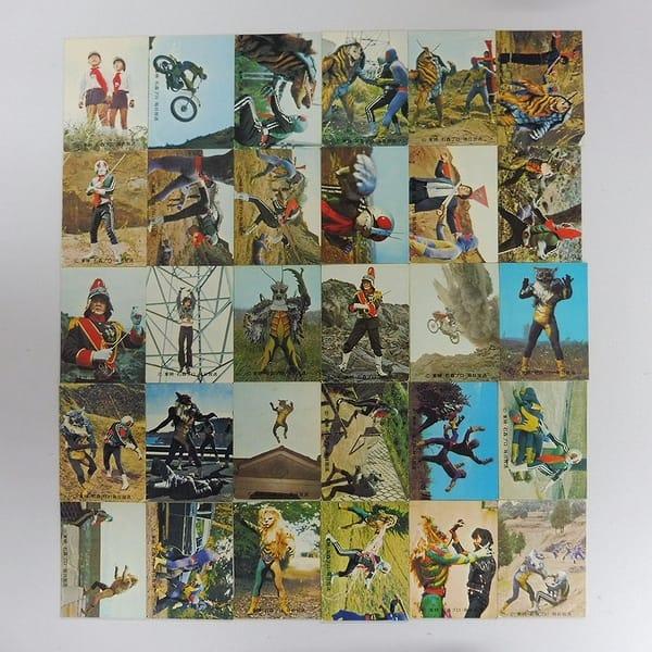 カルビー 旧 仮面ライダー カード 352 - 383 セミコンプ