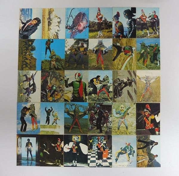 カルビー 旧 仮面ライダー カード 384 - 413 コンプ