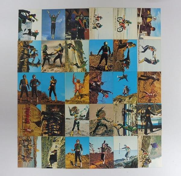 カルビー 旧 仮面ライダー カード 414 - 443 コンプ