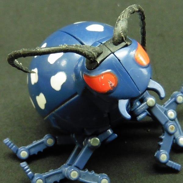 虫 タマゴラス M-3 カミキリムシ 当時物 / 卵型変形玩具