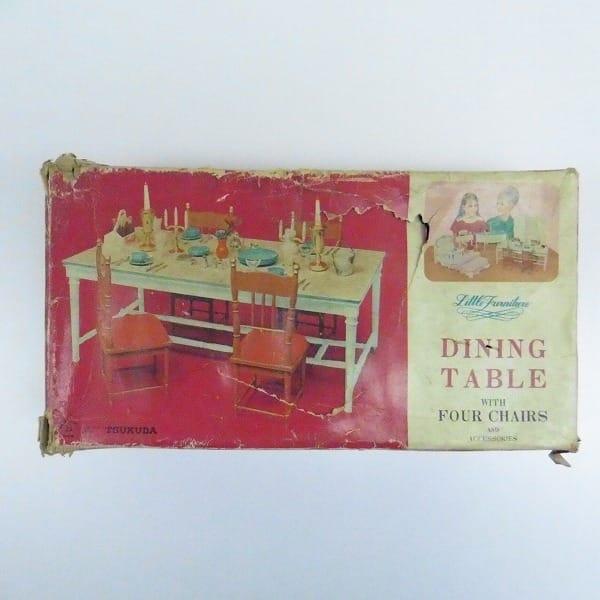 ツクダ ダイニングテーブル Little Furniture 椅子付属
