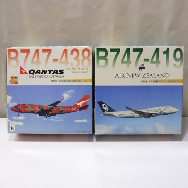 Dragon Wings 1/400 B747-438 カンタス航空 B747-419 NZ