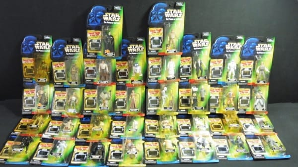 Kenner STARWARS THE POWER OF THE FORCE ルーク ソロ他