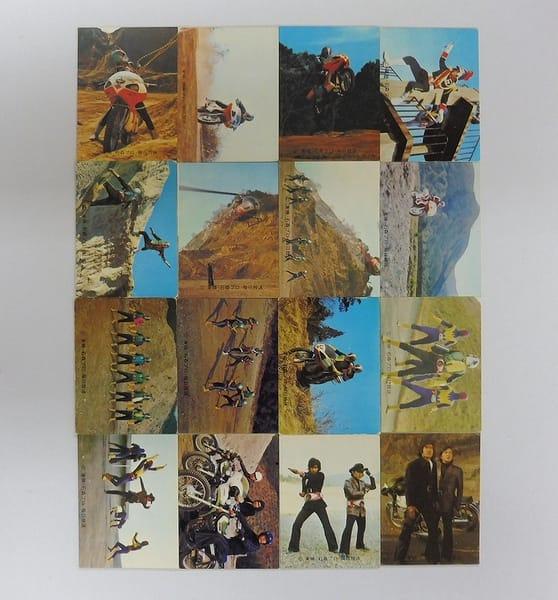 カルビー 旧 仮面ライダー カード 444 - 459 コンプ