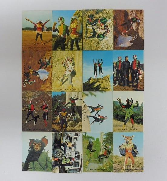 カルビー 旧 仮面ライダー カード 460 - 475 コンプ