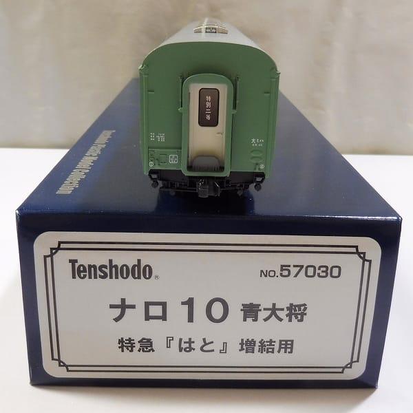 天賞堂 HOゲージ 特急 はと ナロ10 青大将 増結用 客車